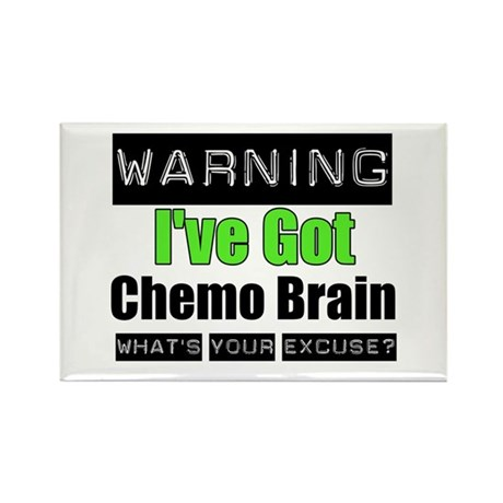 Chemo Brain Rectangle Magnet