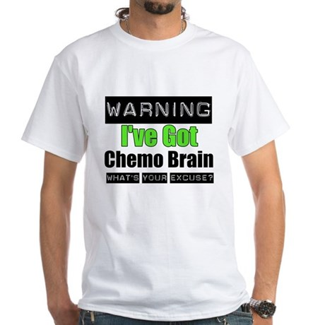 Chemo Brain White T-Shirt