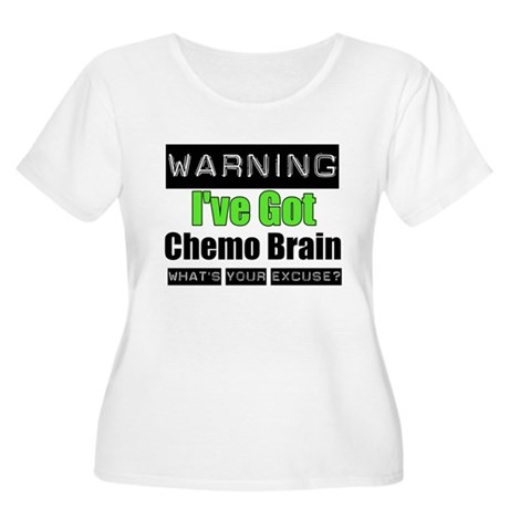 Chemo Brain Women's Plus Size Scoop Neck T-Shirt