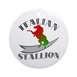 Italian Stallion Keepsake (Round)