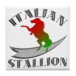 Italian Stallion Tile Coaster
