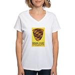 Pomo Basket Women's V-Neck T-Shirt