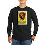 Pomo Basket Long Sleeve Dark T-Shirt