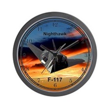 F-117 Nighthawk Wall Clock