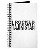 I Rocked Tajikistan Journal