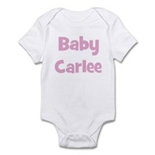 Baby Carlee (pink) Infant Bodysuit