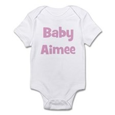 Baby Aimee (pink) Infant Bodysuit