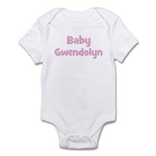 Baby Gwendolyn (pink) Infant Bodysuit