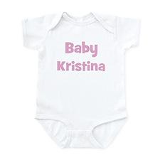 Baby Kristina (pink) Infant Bodysuit