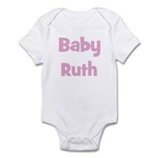 Baby Ruth (pink) Infant Bodysuit
