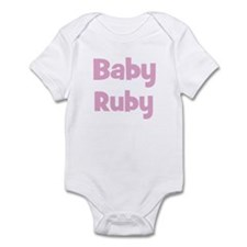 Baby Ruby (pink) Infant Bodysuit