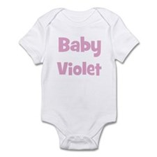 Baby Violet (pink) Infant Bodysuit