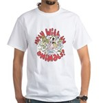 PARTY WITH THE ANIMALS White T-Shirt