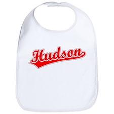 Retro Hudson (Red) Bib