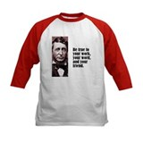 "Thoreau ""Be True"" Tee"