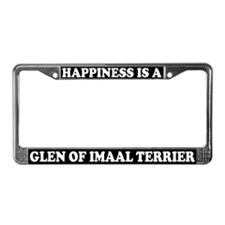 Glen Of Imaal Terrier License Plate Frame