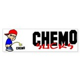 Chemo Sucks -- Bumper Stickers Bumper Bumper Sticker