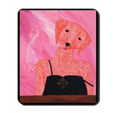 Cute Caniche Mousepad
