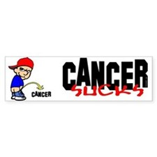 Cancer Sucks -- Bumper Sticker Bumper Bumper Sticker