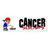 Cancer Sucks -- Bumper Stickers Bumper Bumper Stickers