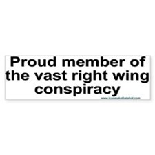 right wing bumper sticker