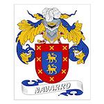 Navarro Family Crest Small Poster