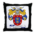 Navarro Family Crest Throw Pillow