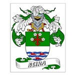 Neira Family Crest Small Poster