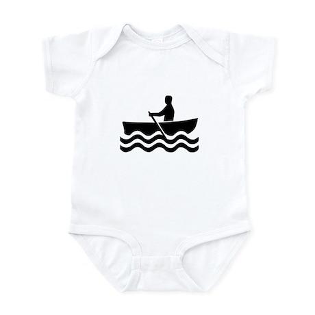 1516 Rowboat Sign Infant Bodysuit