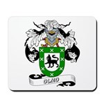 Olmo Family Crest Mousepad