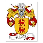 Osorio Family Crest Small Poster