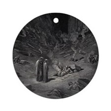 Human Minefield Ornament (Round)