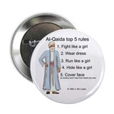 "Al-Qaida rules of engagement 2.25"" Button"