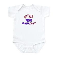 Natalie - 100% Obamacrat Infant Bodysuit