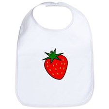 Cute Strawberry Bib