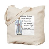 Al-Qaida rules of engagement Tote Bag