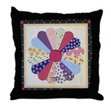 DRESDEN PLATE Throw Pillow