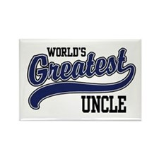 World's Greatest Uncle Rectangle Magnet