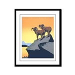 National Parks Framed Panel Print