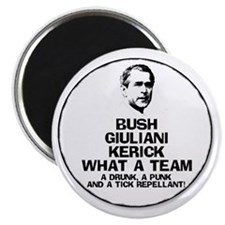 Bush, Giuliani & Kerick Team Magnet