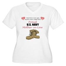 Proud US Navy Mother-in-Law T-Shirt