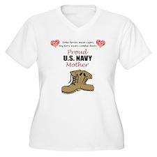 Proud US Navy Mother T-Shirt
