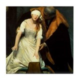 Execution of Lady Jane Grey Tile Coaster