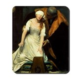 Execution of Lady Jane Grey Mousepad