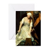Execution of Lady Jane Grey Greeting Card