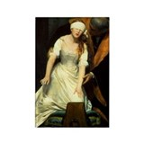 Execution of Lady Jane Grey Rectangle Magnet