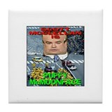 Puffy McMoonface Tile Coaster
