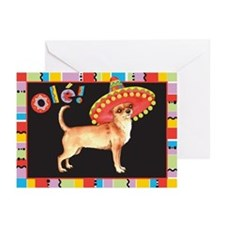 Cinco de Mayo Chihuahua Greeting Cards (Pk of 10)