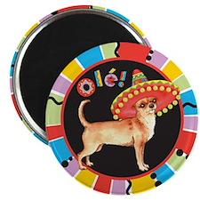 Fiesta Chihuahua Magnet