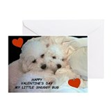 VALENTINE'S DAY SNUGGY BUG GREETING CARD